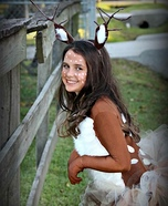 Oh My Deer! Homemade Costume