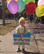 Children's book Halloween costumes - Oh, the Places You'll Go! Costume