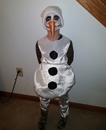 Olaf Homemade Costume