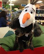 Olaf Dog Costume