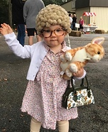 Old Cat Lady Homemade Costume