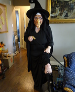 Old Crone Witch Homemade Costume
