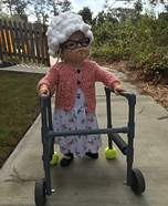 Old Grandma Homemade Costume