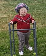 Old Granny Homemade Costume