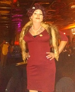 Old Hollywood Diva Homemade Costume
