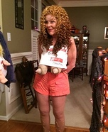 Old Hooters Girl Homemade Costume