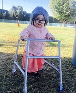 Old Lady Homemade Costume