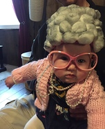 Old Lady Infant Costume
