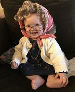 Old Lady Addie Homemade Costume