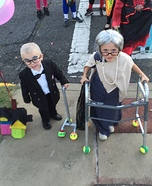 Old Lady and Carl from Up Homemade Costume