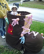 Old Lady Who Lived in a Shoe Homemade Costume