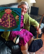 Old Lady Who Swallowed a Fly Homemade Costume