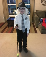 Old Man Homemade Costume