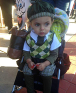 Old Time Golfer Baby Costume