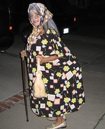 Old Woman Costume for Girls