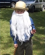 Homemade Old Man Costume