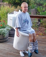 On the Toilet Homemade Costume