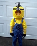 One Eyed Minion Homemade Costume