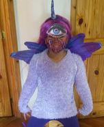 One Eyed One Horned Flying Little People Eater Homemade Costume