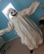 Homemade Oogie Boogie Costume