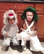 Oompa and the Very Bad Wolf Homemade Costumes
