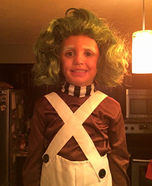 Oompa Girl Homemade Costume