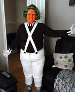 Oompa Loompa Homemade Costume