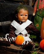 DIY Oompa Loompa Baby Costume