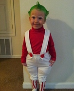 Oompa Loompa Homemade Costume