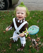 Cutest Oompa Loompa Baby Costume