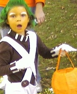 Oompa Loompa Costume DIY