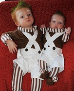 Oompa Loompa Babies Homemade Costume