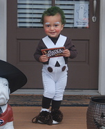 Oompa Loompa Baby Homemade Costume
