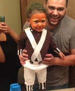 Cute Oompa Loompa Baby Costume