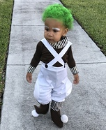 Oompa Loompa Child Homemade Costume