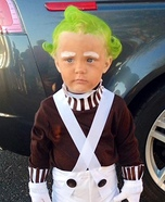 Oompa Loompa from Willy Wonka and the Chocolate Factory Homemade Costume