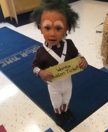 Oompa Loompa Toddler Homemade Costume