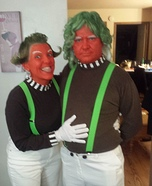 Oompa Loompas Homemade Costume