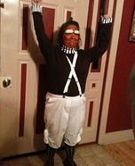 Oompah Loompa Homemade Costume