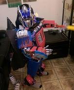 Optimus Jetfire Homemade Costume