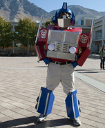 Transformable Optimus Prime Costume