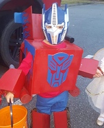 Coolest Optimus Prime Costume