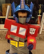 Optimus Prime Homemade Costume