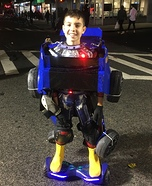 Optimus Prime as Bumblebee Homemade Costume