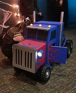 DIY Optimus Prime Transformer Costume