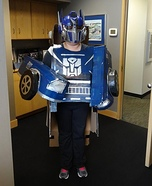 Optimus Ram Homemade Costume