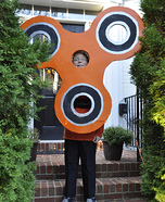Orange Fidget Spinner Homemade Costume