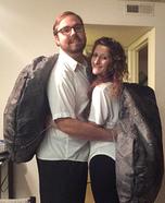 OREO Couple Homemade Costume