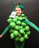 Organic Grapes Costume