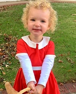 Orphan Annie Homemade Costume